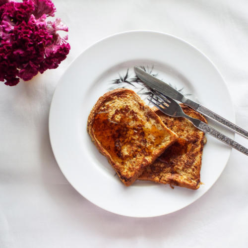 Quick and Healthy French Toast
